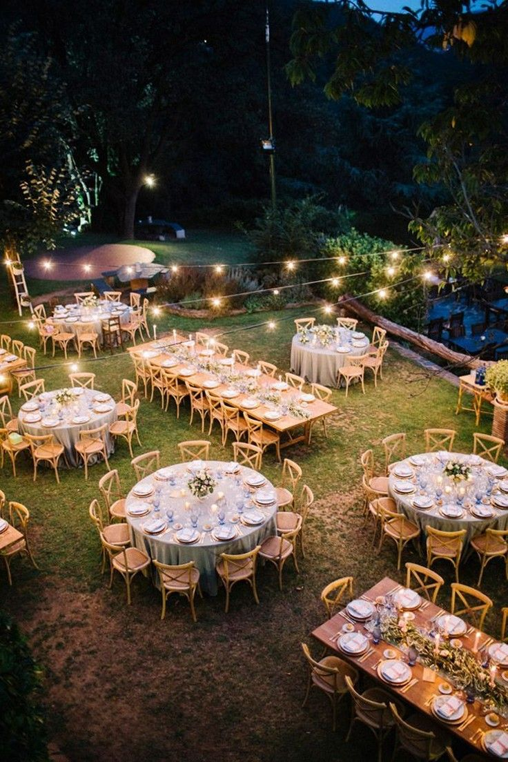 Create A Wedding Outdoor Ideas You Can Be Proud Of Secret Techniques For Wedding Ideas O Wedding Backyard Reception Backyard Wedding Wedding Fingerprint Tree