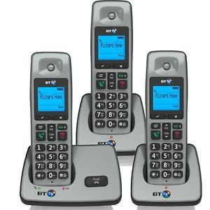 BT 2000 Trio Digital Cordless Home Telephone & Speaker Phone