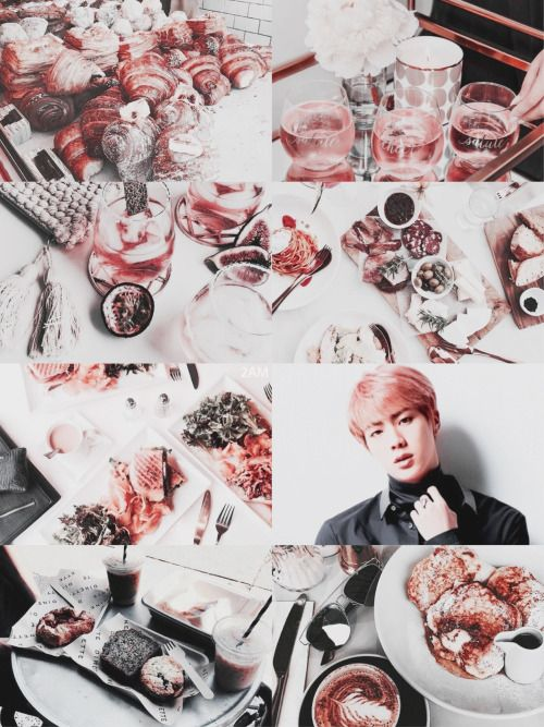 """☁️「bts seven deadly sins!au」Kim Seokjin is Gluttony  """"Gluttony is an inordinate desire to consume more than that which one requires""""  Credits to creator"""