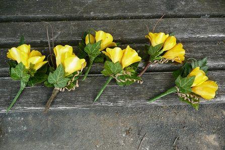 freesia buttonhole www.wanakaweddingflowers.co.nz/gallery.php