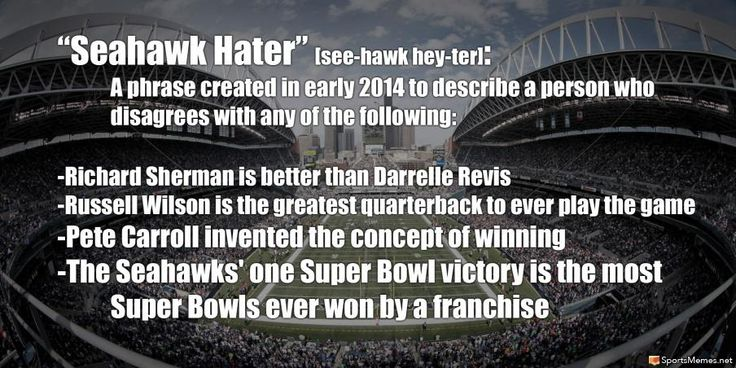 Seahawk Hater Meme