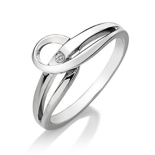 Stříbrný prsten Hot Diamonds Forever