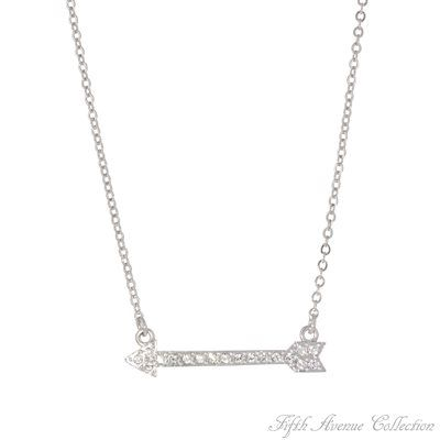 Rhodium Neckpiece - True North - Australia - Fifth Avenue Collection - Jewellery that changes the way you see fashion