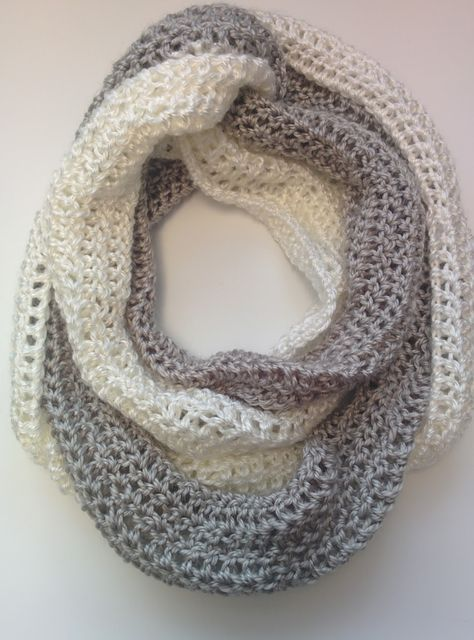 3-in-1 Infinity Scarf FREE Crochet Pattern