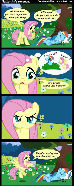 Fluttershy Rainbow Dash Mlp My Little Pony Pinterest
