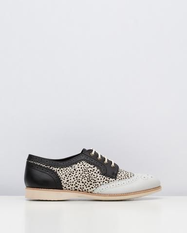 Rollie Brogue Snow Leopard