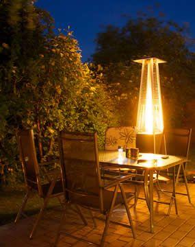 Kiezen voor terrasverwarming of terrasheaters.