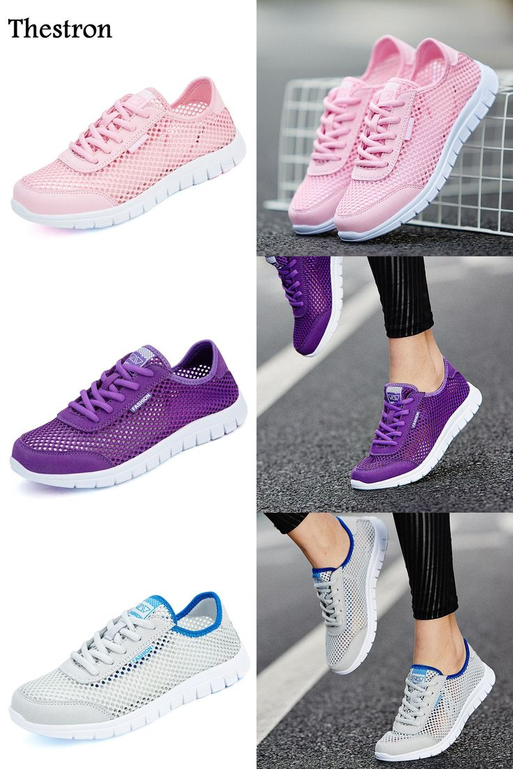 [Visit to Buy] Thestron Barefoot Running Shoes Women Summer Girls Athletic Sneakers Breathable Woman Sports Shoe Pink/Purple Women Trainers #Advertisement