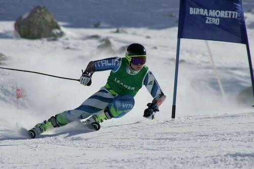 Federico Vietti, vittoria in Slalom ad Antillanca (Cile)