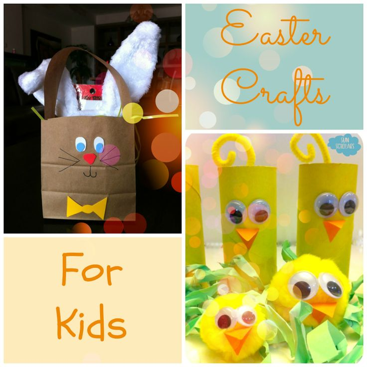 Easter Crafts For Kids Easter Spring Pinterest