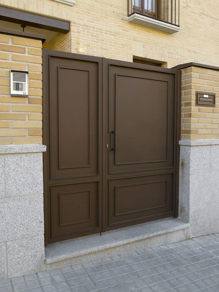 M s de 1000 ideas sobre portones corredizos en pinterest for Fabrica de puertas en villacanas