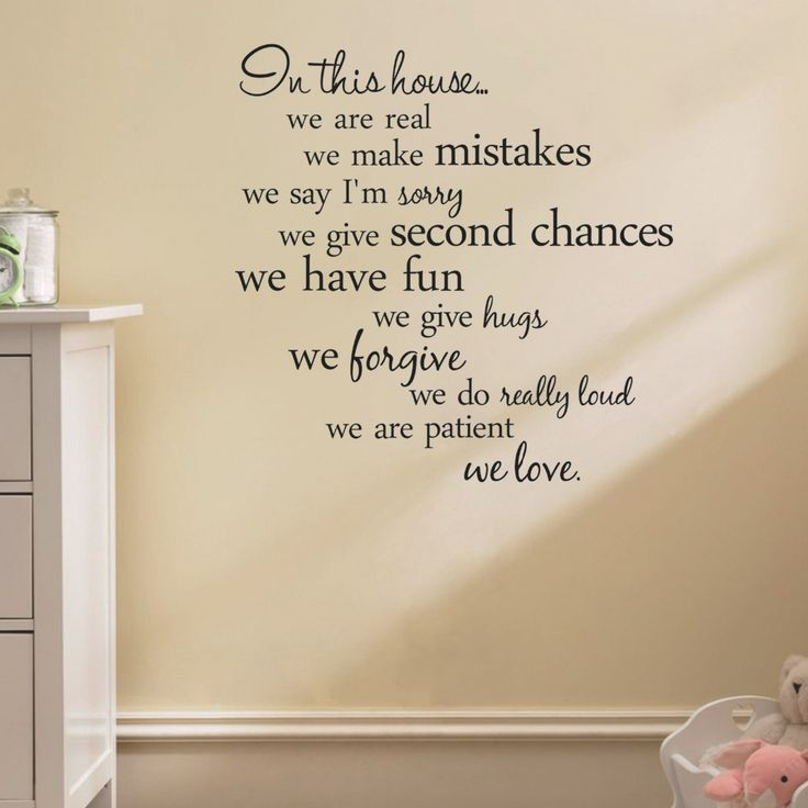Best Wall Stickers For Home Decor Images On Pinterest - Custom vinyl wall decals quotes how to remove