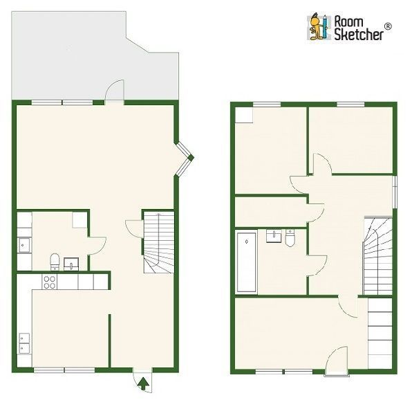 132 best home building with roomsketcher images on for Floor plans for real estate marketing