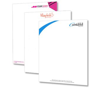 Letterhead Printing: Display your business information with the customized letterheads. A letterhead usually consists of the company logo, name, address, telephone numbers and website address. In addition to the correspondence, letterheads can be used for invoices, proposals, business forms and many others. Print letterhead in Pakistan with us and give us opportunity to satisfy you. Contact Us..! Ph: 04235941824  Cell: 03344478886  Skype: click2print1  Gtalk: faizi.click2print