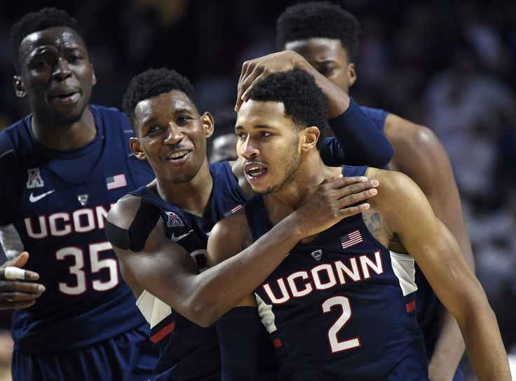 Two months ago, Jalen Adams had to sit on the bench, sullen, still a bit groggy with the symptoms of concussion, as his team was blown out at the XL Center.
