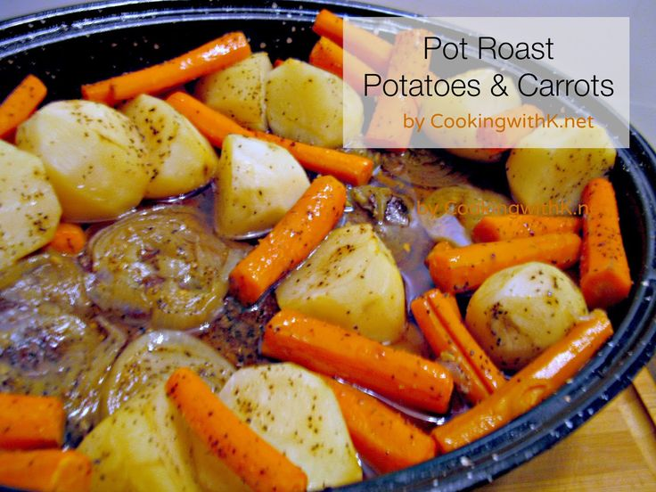 ... with K: Sunday Pot Roast with Potatoes and Carrots {Granny's Recipe