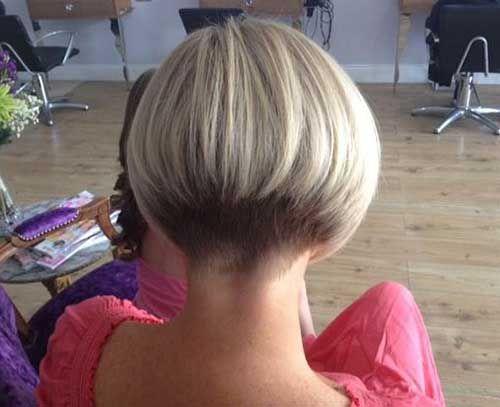 Alle geliebten blonden kurzen Frisuren der Damen, Blonde kurze Frisuren-12 , Kur…