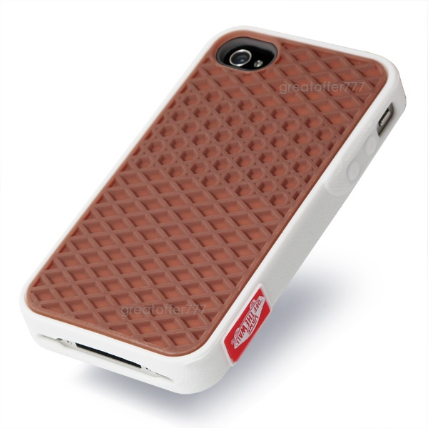 VANS Waffle Sole Shoe Silicone Rubber Case Cover for Apple iPhone 4 4s 4G // for the boy