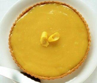 Tarte au citron - la recette de la Maison Ladurée