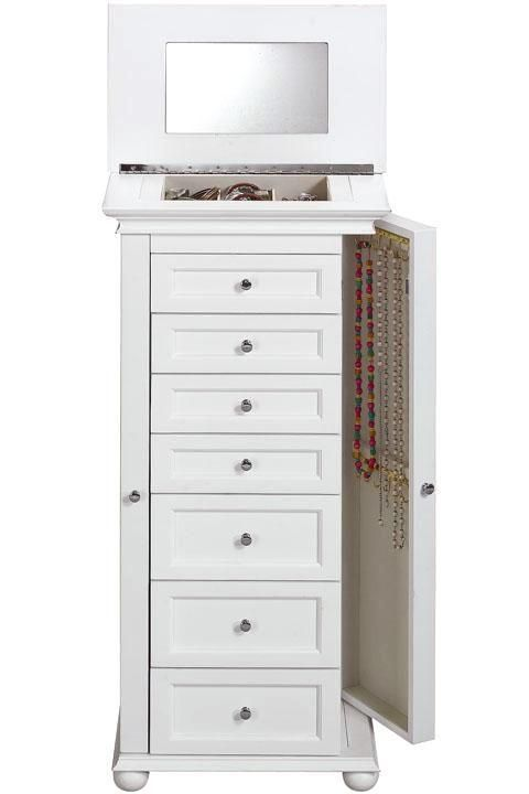 Hampton Bay Jewelry Armoire - Jewelry Organization - Storage & Organization - Storage & Display | HomeDecorators.com
