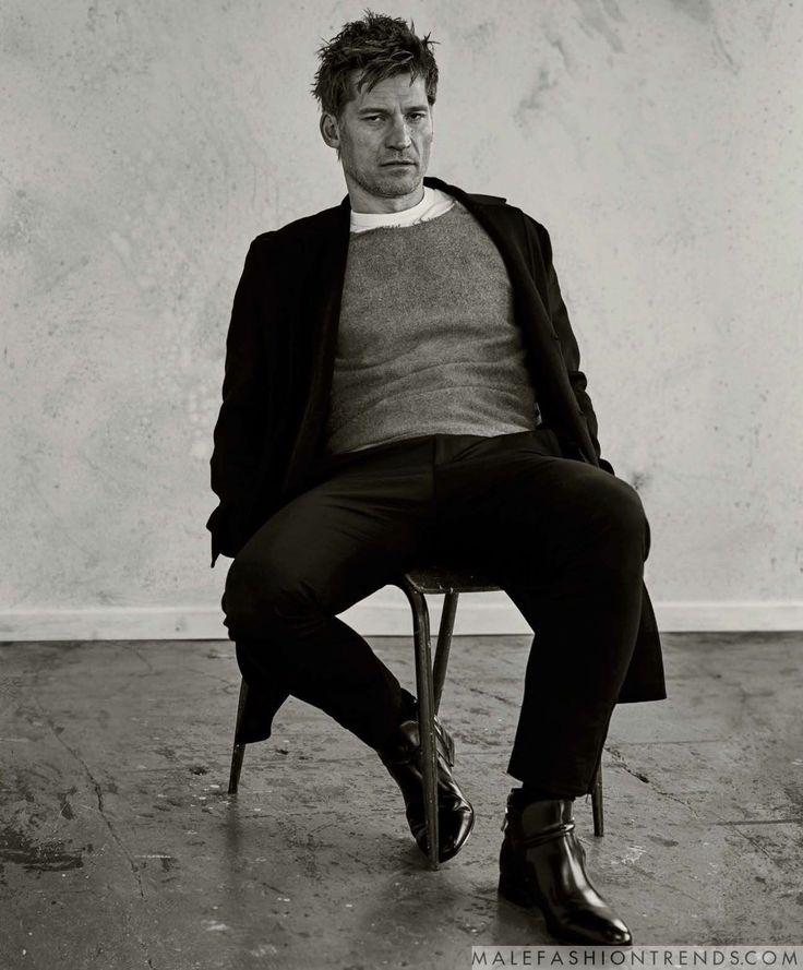 Nikolaj Coster-Waldau para Essential Homme por David Roemer
