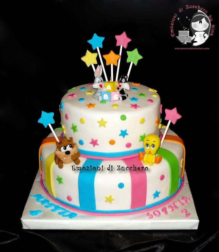 Looney Tunes Cake Children S Birthday Cakes Pinterest