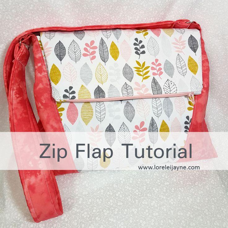 Zip Flap Tutorial