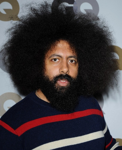 Reggie Watts.  More importantly, his 'fro.