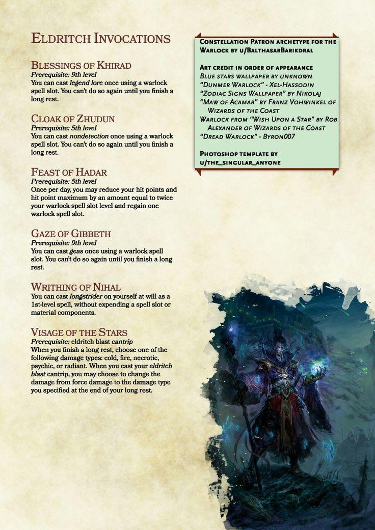 #warlock #spells