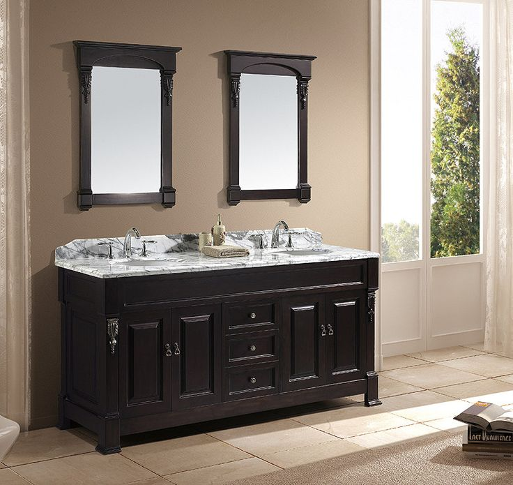 Northampton 72 Double Bathroom Vanity Set 167 best double traditional bathroom vanities images on pinterest