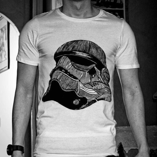 #linocut #starwars #graphics #shirt