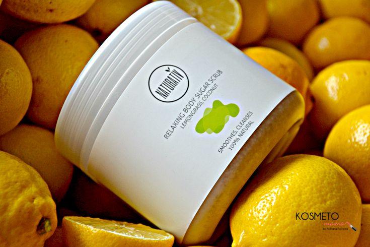 #Naturativ #Relaxing #Sugar #Bodyscrub #naturalcosmetic #Lemongras #avocado #babassuoil
