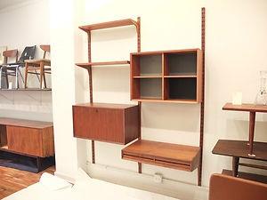 Royal Cado Wall Storage Unit Mid Century Danish Modern Ebay
