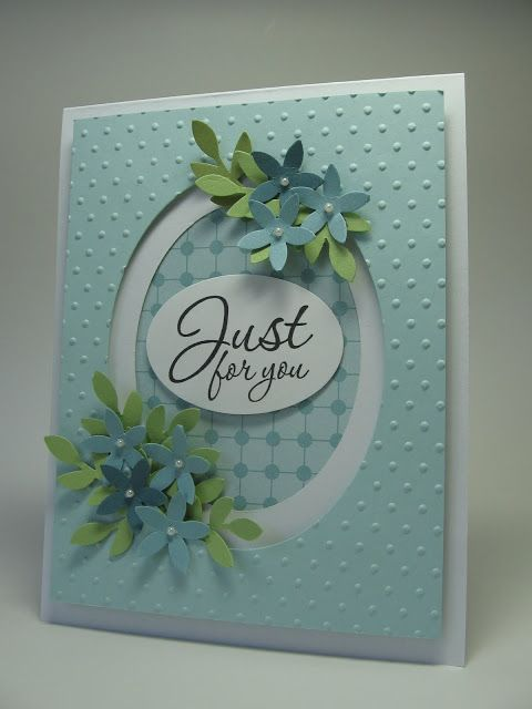 stamping up north: Just for you... framed