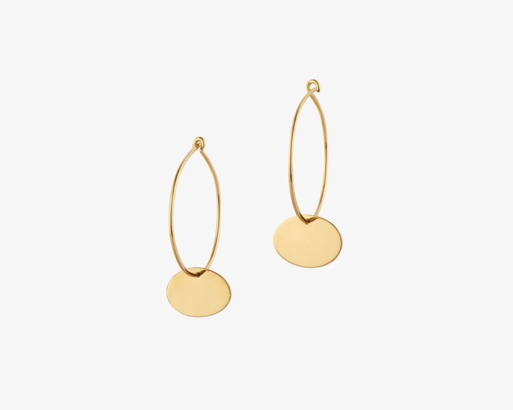 rett frem | Earrings Untitled No.7 art collection