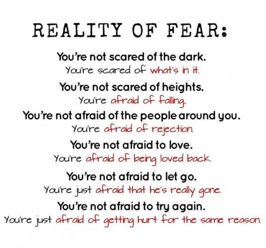 THIS is perfect! #fear...