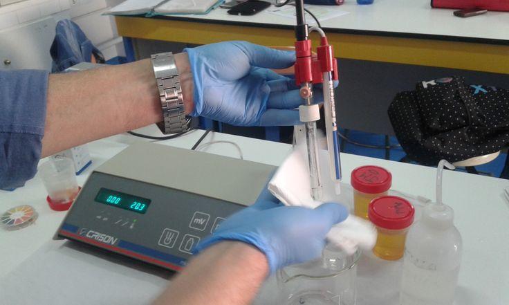 12. Secar el electrodo