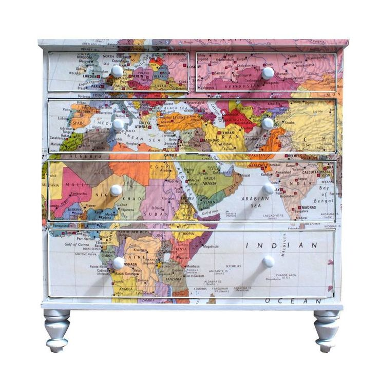 Map Decor Crafts To Make Your Home