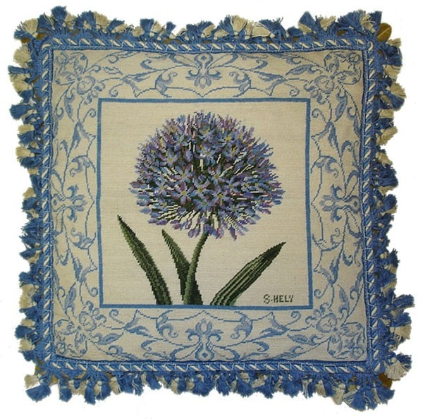 needlepoint pillow.....obviously not china, but it is sooooooo beautiful and would compliment your china