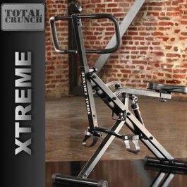Totale Crunch Xtreme è un sistema di allenamento innovativo che aiuta a modellare la schiena, spalle, petto, bicipiti, tricipiti, addominali, glutei, fianchi e cosce, allo stesso tempo. COMPUTERINO IN REGALO!