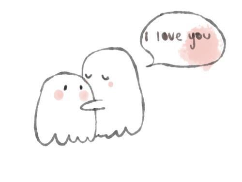 The gallery for --> Cute Ghost Love