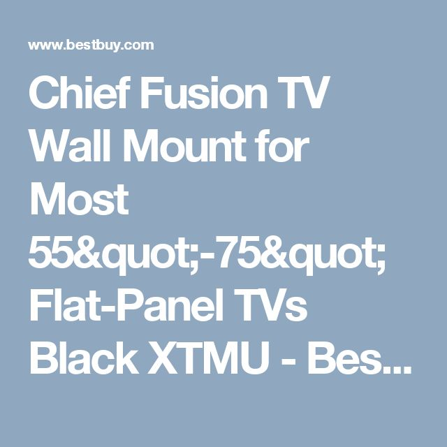 17 best ideas about best tv wall mount on pinterest wall for Chief motorized tv mount