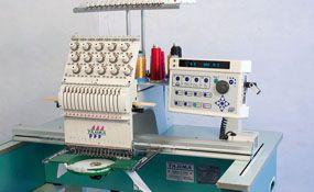 Used 2001 Tajima TMEX-C1501 commercial embroidery machine - ID#1226, 1 Heads, 15 Needles www.TheEmbroideryWarehouse.com
