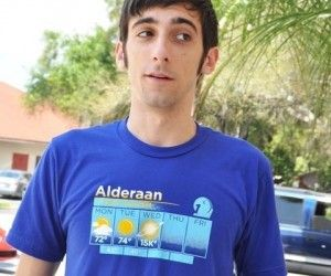 Star Wars Alderaan 5 day weather forecast shirt ( $28.10 ) : Looks like wednesday is going to be a blast!