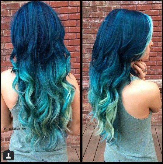 Ashleah Fox! Always has gorgeous hair!