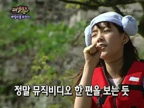 태연 vs 효리 : 080914 패밀리가 떴다 #Taeyeon #SNSD #Hyori