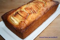 Speltcake met honing en appel (Gezond leven van Jacoline)