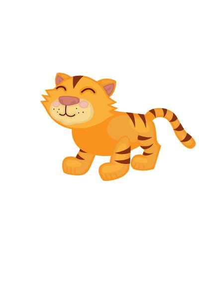 Tiger Vector Image #wild #animals #vector #handdrawvector #tiger http://www.vectorvice.com/wild-animals-vector-pack