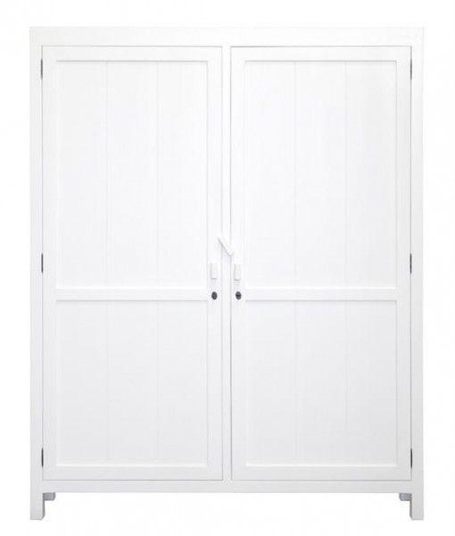 Cabinet Reclaimed Teak Wood XL White