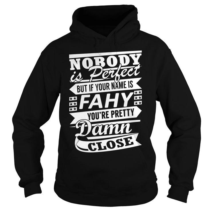 FAHY Last Name, Surname Tshirt